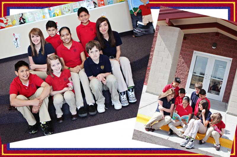 Heritage students as seen on the school's website