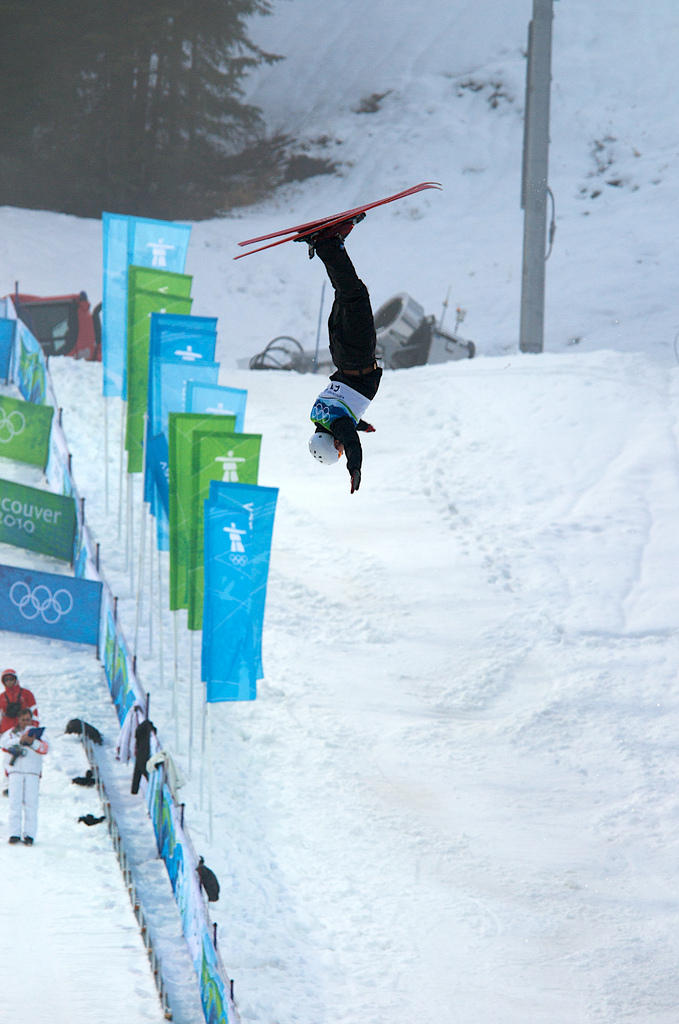 "Jeret ""Speedy"" Peterson competes in the 2010 Winter Olympics before ending his life last year."