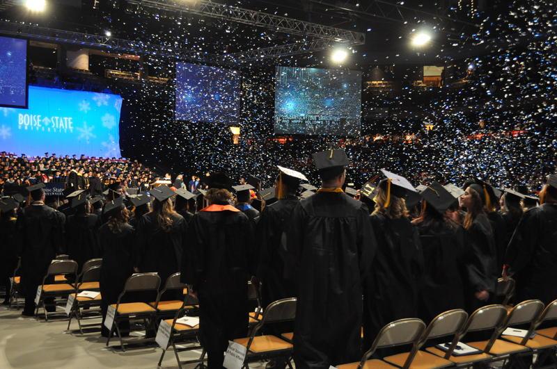 Graduation Winter Boise State Undergraduates