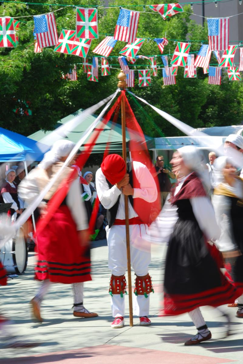 Basques in Boise have a long tradition with dancing. Dancers start training when they're three and many travel internationally sharing the Basque culture.