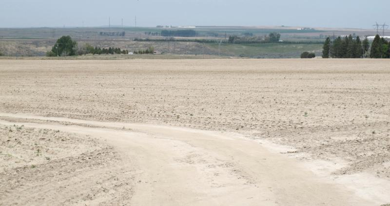 Farmers in Power County south of American Falls in May were already starting to experience the effects of drought.