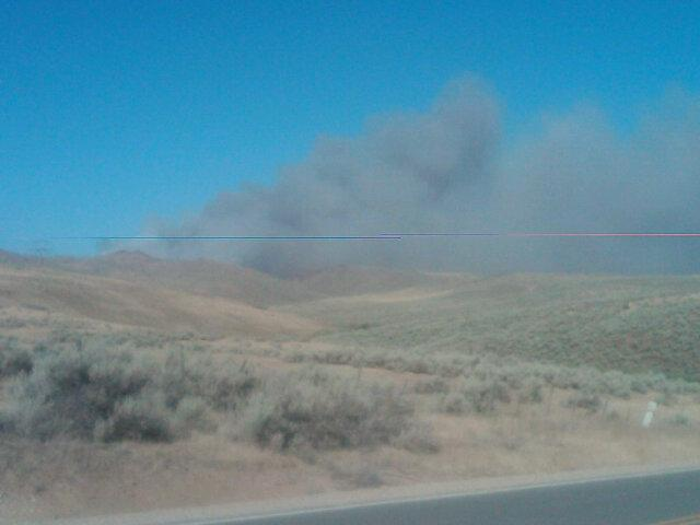 By 7:30 PM Friday, the Pole Fire southeast of Boise burned 700 acres of grass and sage.
