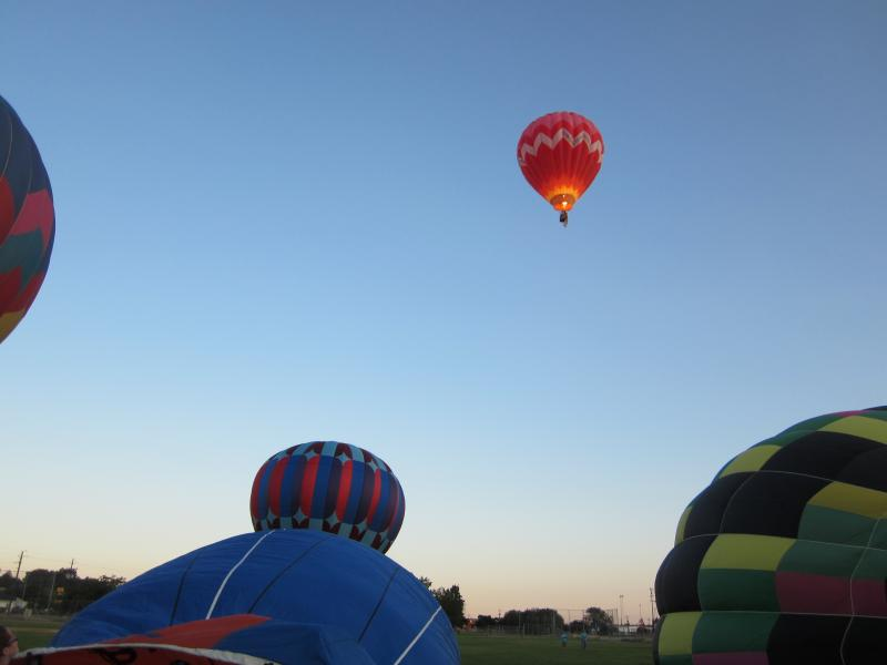Only about 15 balloons still actively fly in the Boise area.