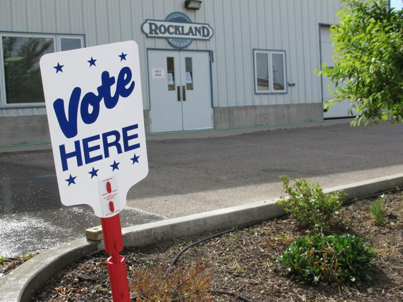 Another voting day in another Idaho town