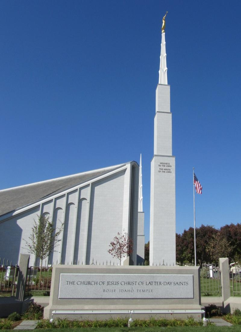 Boise's LDS temple will hold open houses October 13 through November 10.
