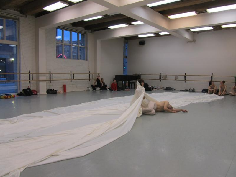 The beginning of the final movement of this dance at a recent rehearsal in Boise.