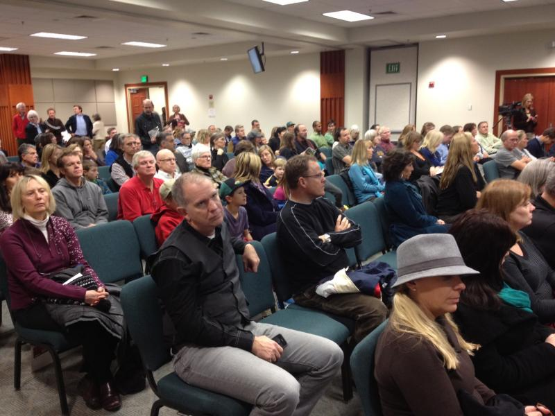 The Ada County Planning and Zoning meeting room was packed. More than 20 people spoke on the record about the waste-to-energy plant.
