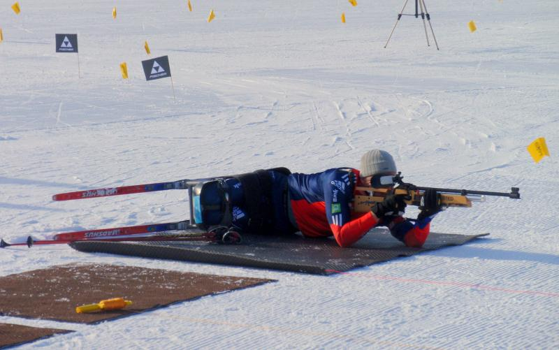 U.S. Paralympic National Team member Sean Halsted (Rathrum, ID) is a teammate of Andy Soule.