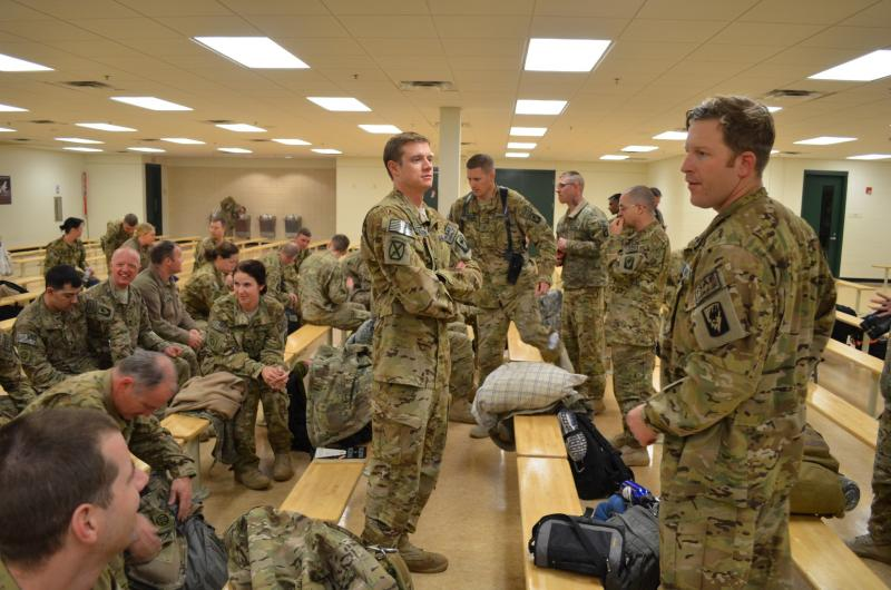 About 60 soldiers with the Idaho National Guard are back in the U.S. after being deployed to Afghanistan.