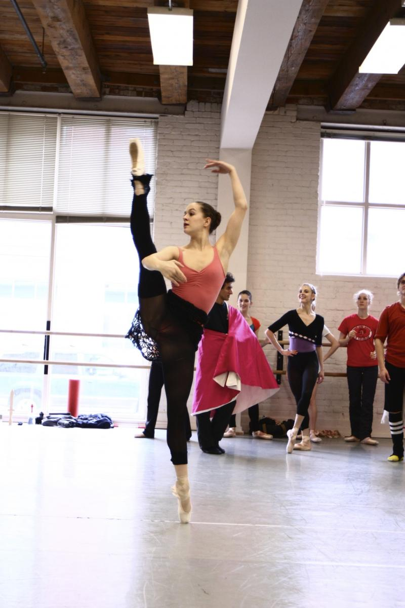 Adrienne Kerr has been with Ballet Idaho for five seasons. She started with the company when she was 17. Now she's preparing to dance one of her biggest roles yet.