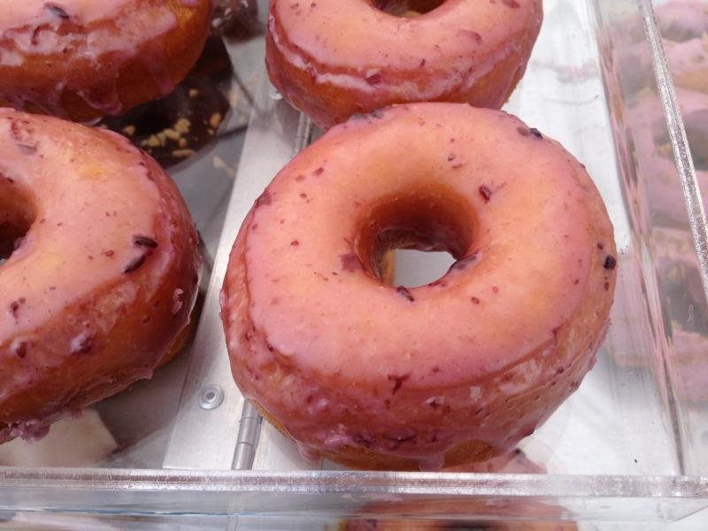 The Hipsterberry donut has been a favorite at the Treefort Music Fest.
