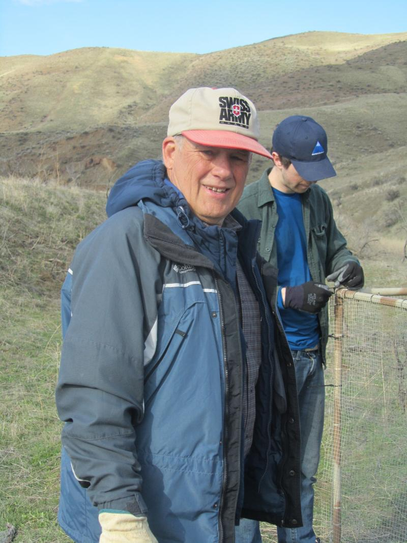 Dr. Eric Yensen oversees the three-year ground squirrel project.