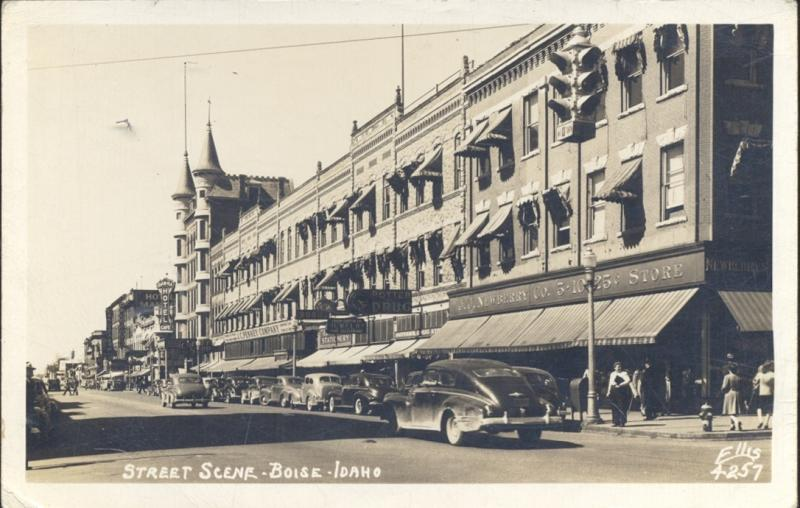 A postcard of Boise's earlier days.