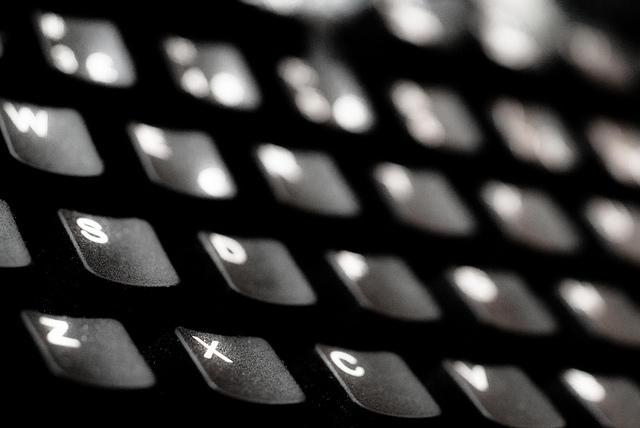 Keyboard, computer, tech