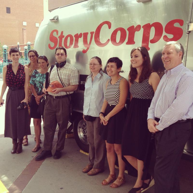 A few of the people who made StoryCorps Boise happen!