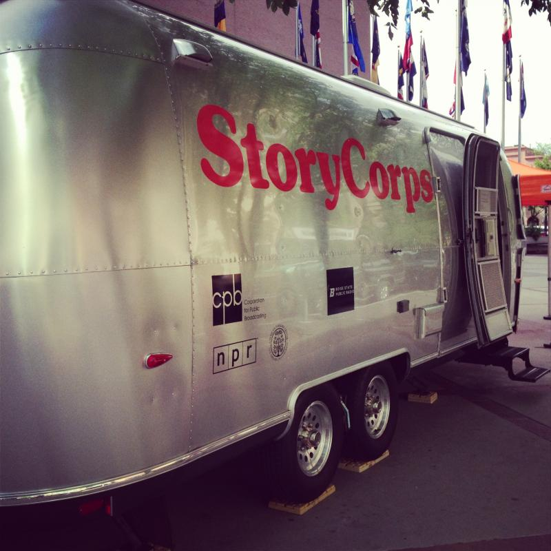 StoryCorps Mobile Booth Downtown Boise