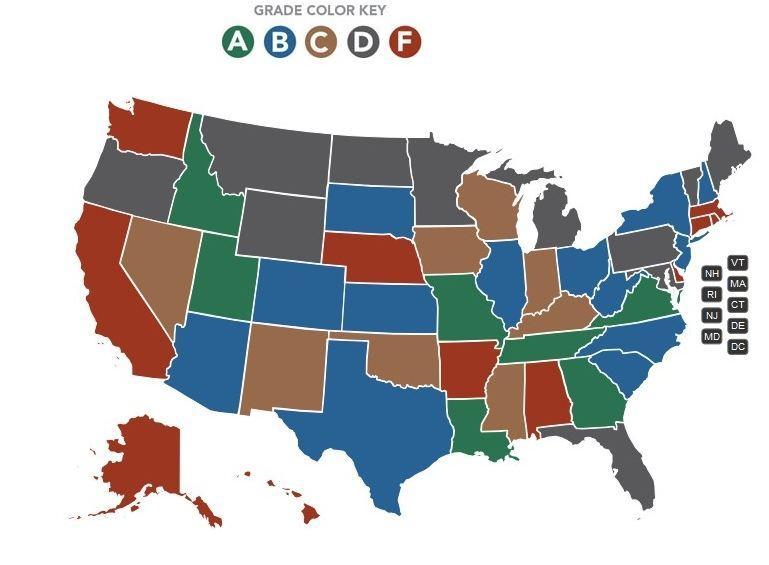 Grade Map
