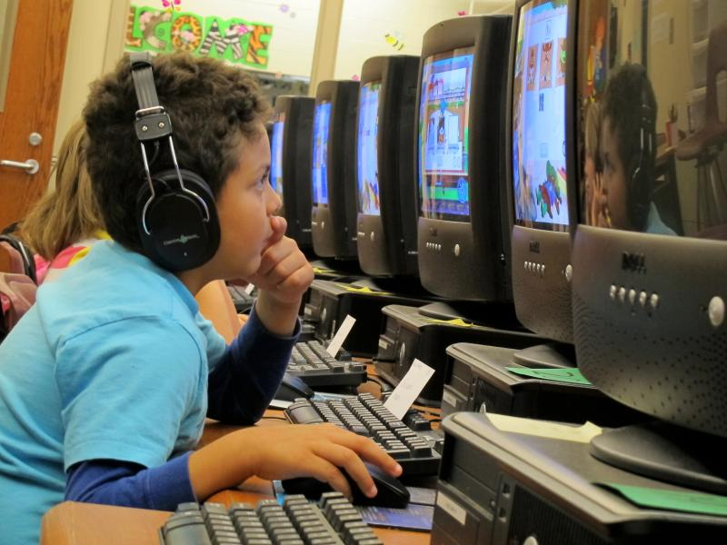 School Kid, Education, Computer