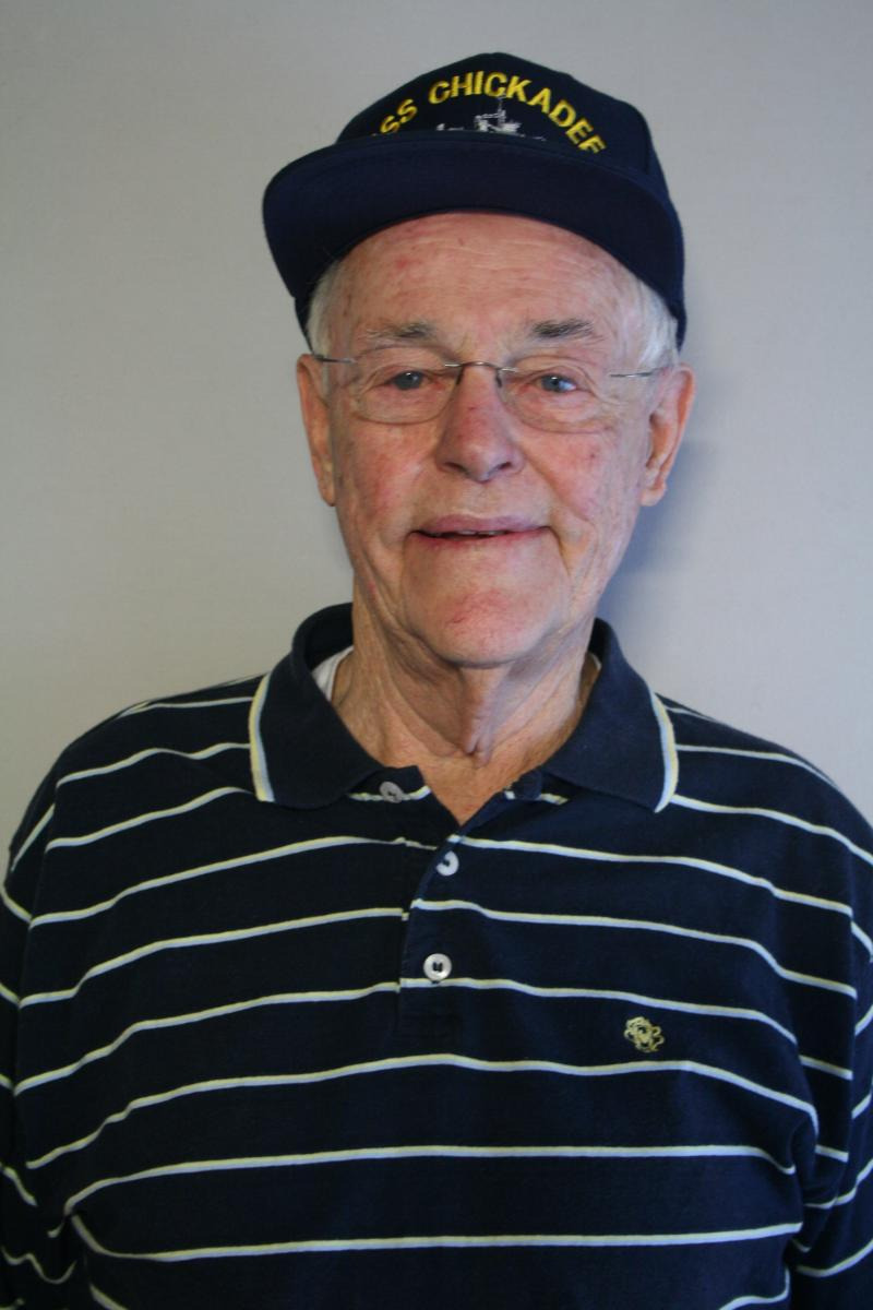 Robert Haga served on board the minesweeper the USS Chickadee.  He swept the coast of Normandy on D-Day.