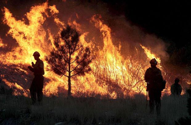 Elk Complex, wildfire