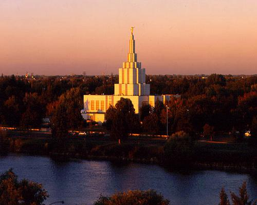 Mormon temple, LDS