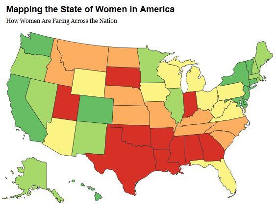 map, women