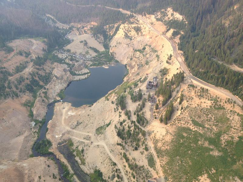 Idaho Gold Mine, Yellow Pine Pit