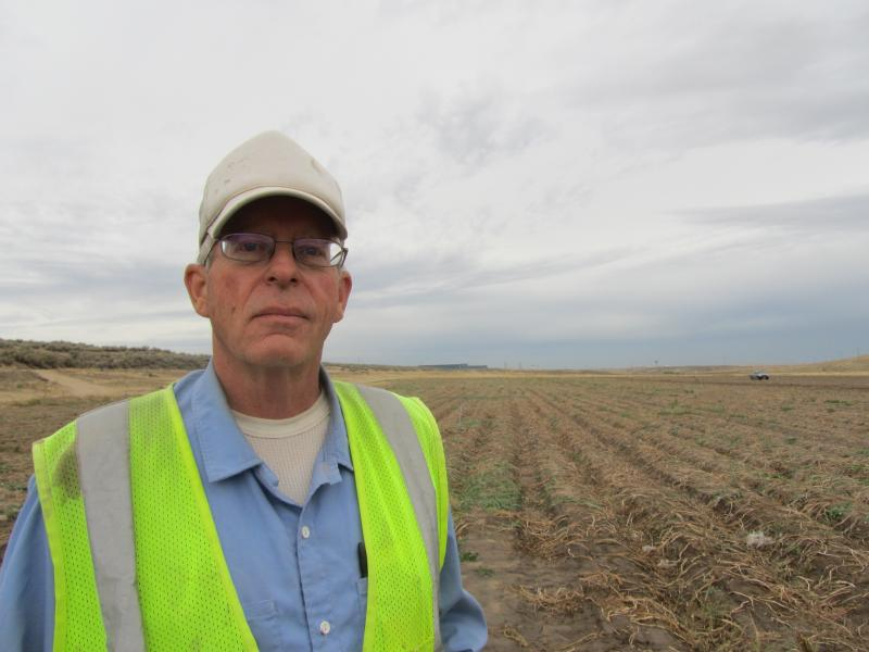 Joe Molyneux is looking for redemption in this potato field.