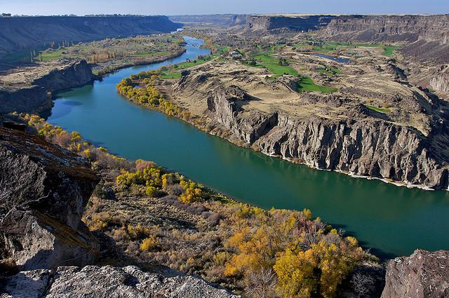 snake river, canyon