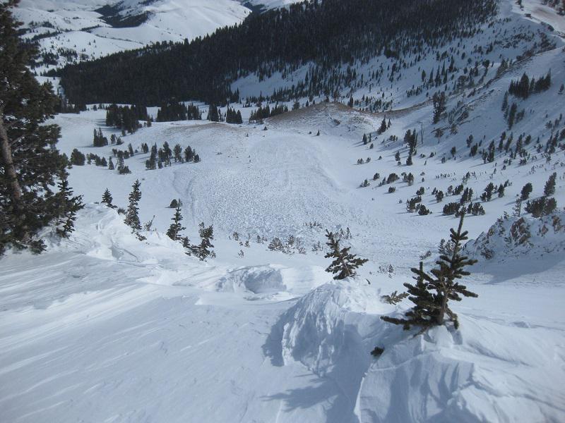 snow, avalanche, sawtooth