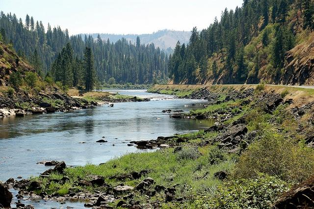 Lochsa River, water, Idaho