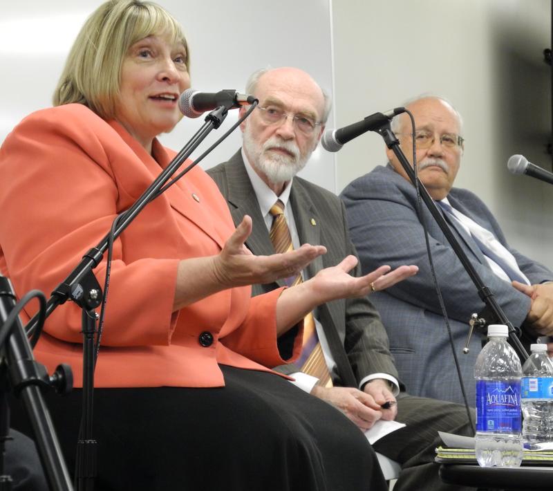 Betty Richardson, Jim Weatherby, Ben Ysursa