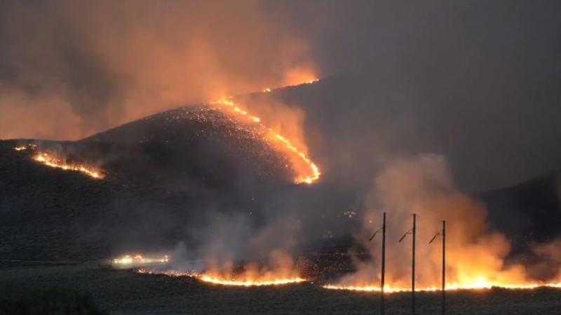 Colorado Gulch Fire