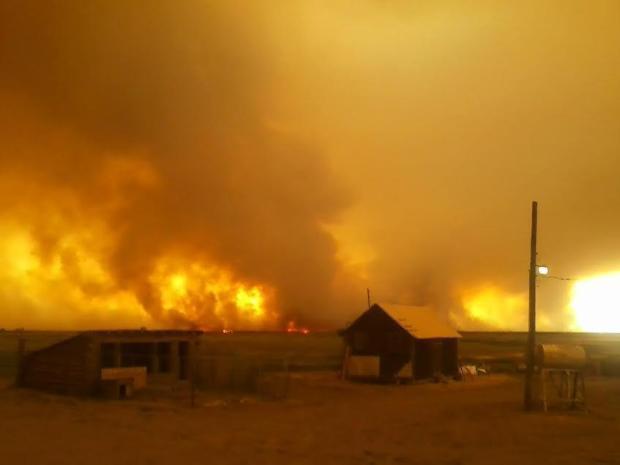 Preacher fire, wildfire