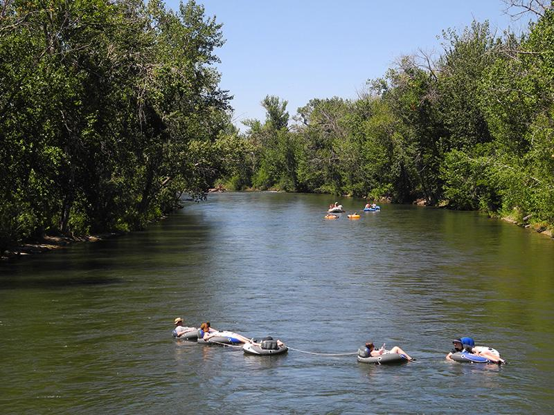 river, boise, floaters, recreation