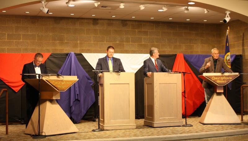 Butch Otter, AJ Balukoff, debate