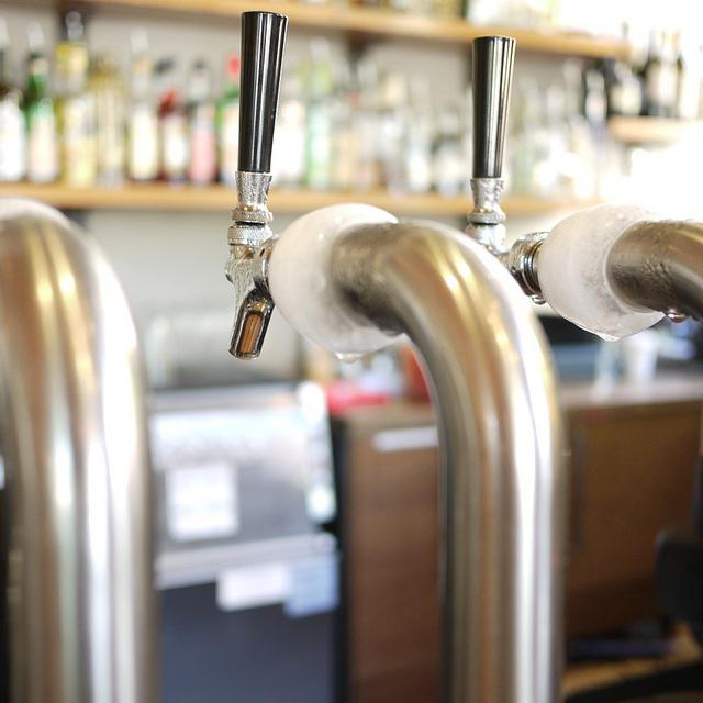 beer tap, bar, alcohol