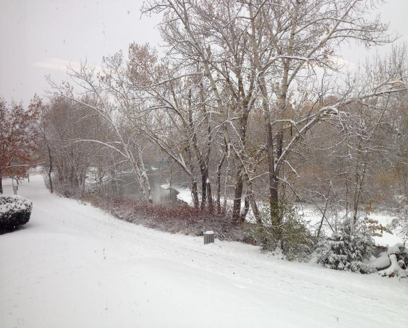Boise River, snow, weather
