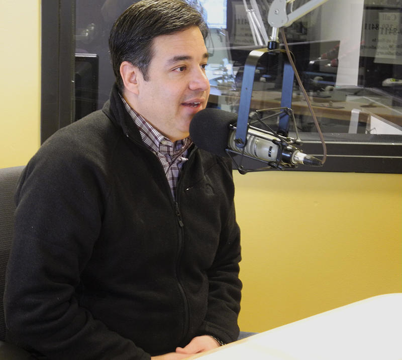 Congressman Raul Labrador speaks with Boise State Public Radio in 2015 after helping to form the House Freedom Caucus.