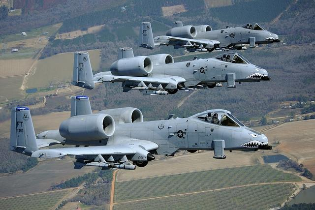 A-10s have been in service since the 1970s. Its maker, Fairchild-Republic stopped building them in the 80s.