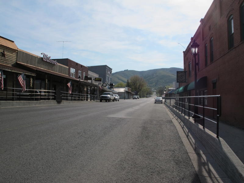 Downtown Council has more hills than buildings. This tiny town has a population of 839.