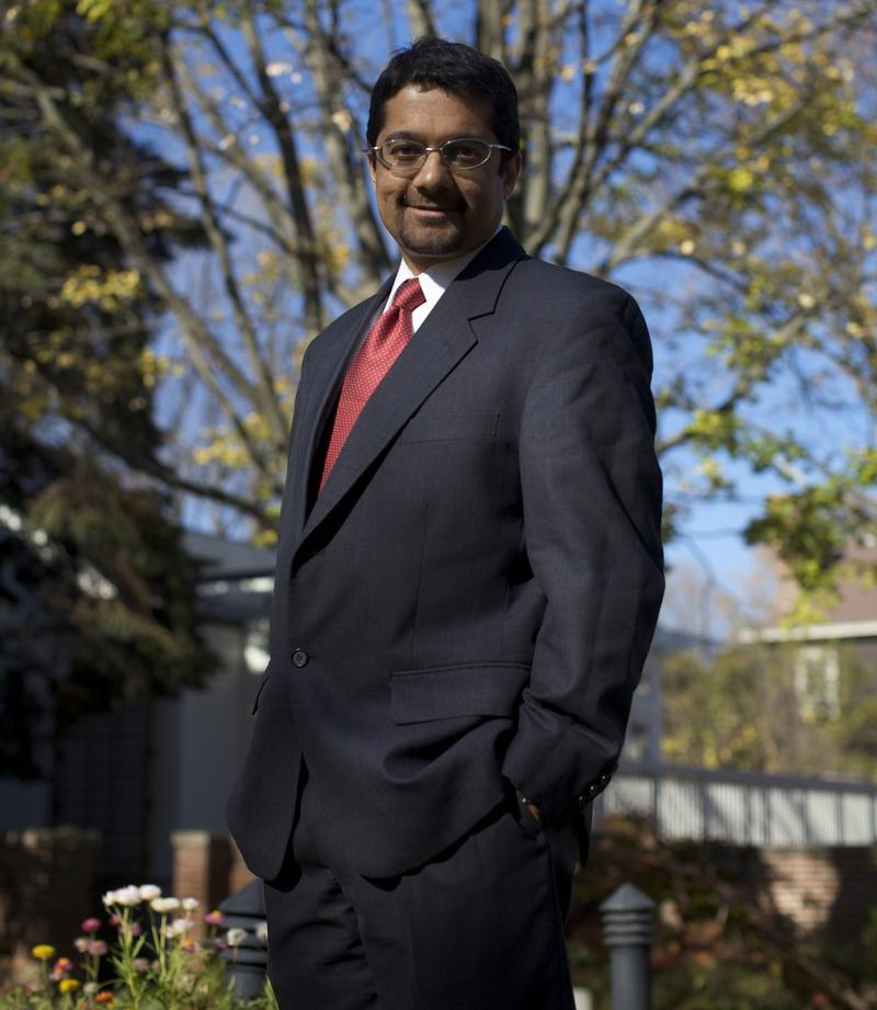 NPR's Shankar Vedantam speaks Thursday in Ketchum, Idaho