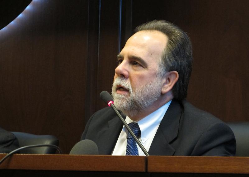Rep. Vito Barbieri is a Republican from Dalton Gardens, Idaho.