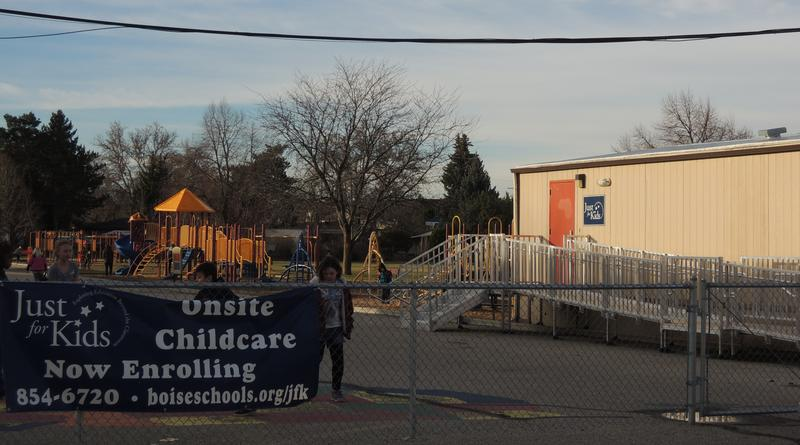 Hawthorne Elementary in Boise's Vista Neighborhood offers preschool to kids with special needs in this building behind the school. As early as January 2016, the Boise School District hopes to add preschool for all kids.