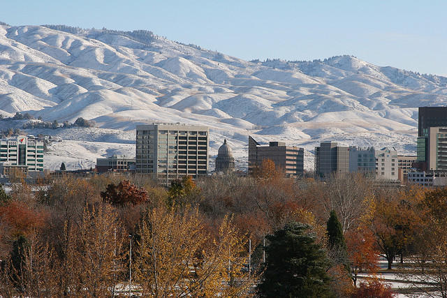 The Welp family lived in the Boise Foothills.