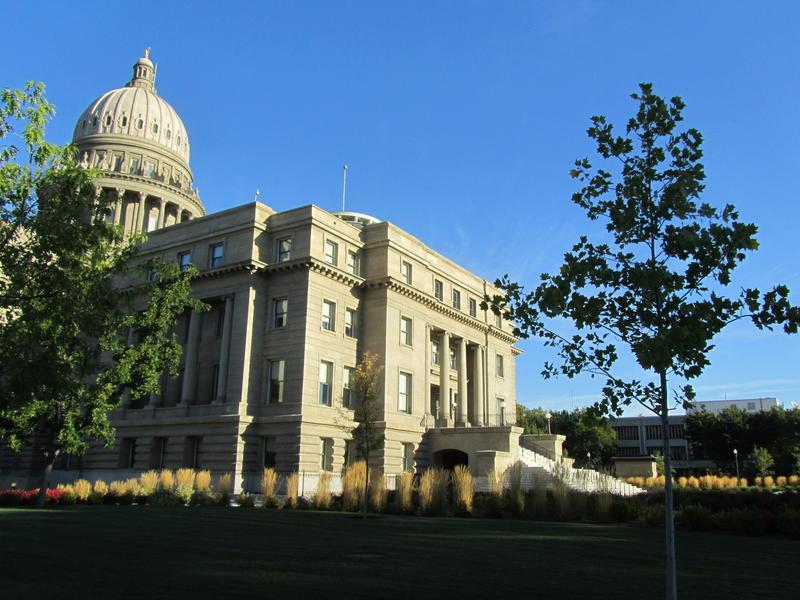 The Idaho Statehouse