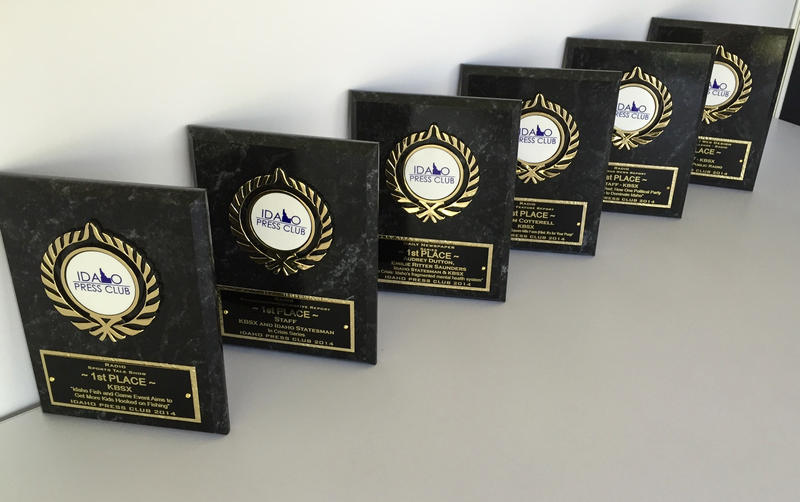 KBSX won six first place prizes in the 2014 Idaho Press Club awards.