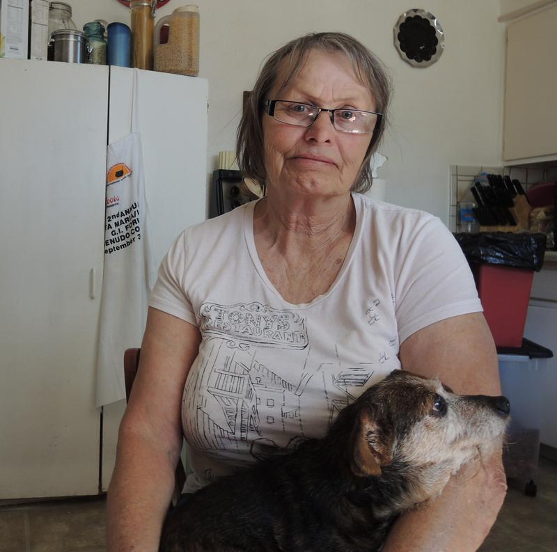 Debra Olive loves animals. She has a small platoon of dachshunds, but a 17-year-old dachshund-yorkie mix that belonged to Olive's mother is almost always by her side.