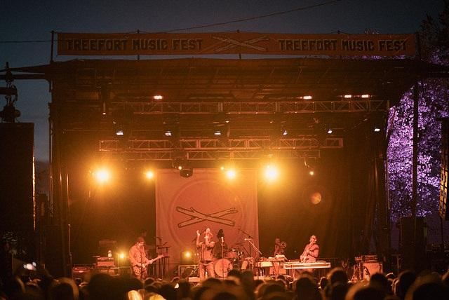 Headliners TV On The Radio closed out Treefort Music Fest this year.