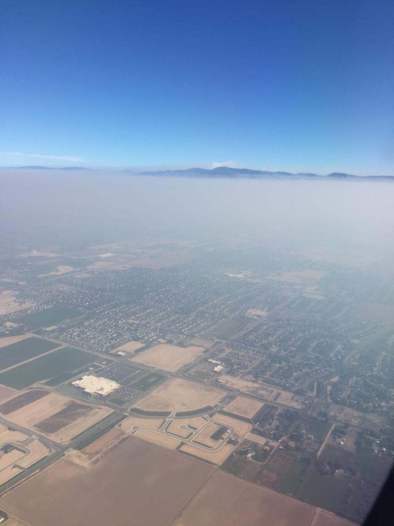 The Treasure Valley from The air Tuesday